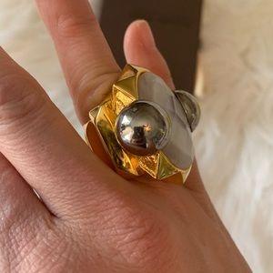 Authentic Roberto Cavalli cocktail ring